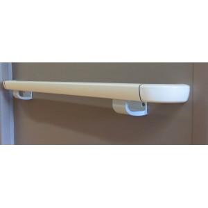 Main courante Trilobée LINEA TOUCH gainée PVC avec closoir