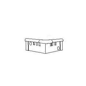 Bouchon de finition CORNEAFLEX 135°