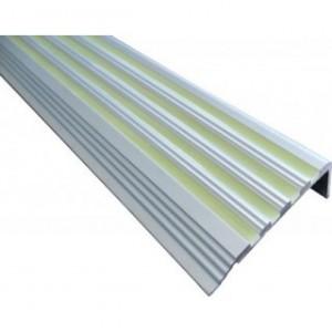 Nez de Marche aluminium photoluminescent LUXE ALU
