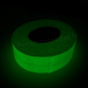 Bande antidérapante photoluminescente adhésive 5cm x 20m