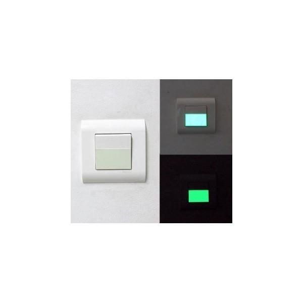 Interrupteur Phosphorescent 10 pièces
